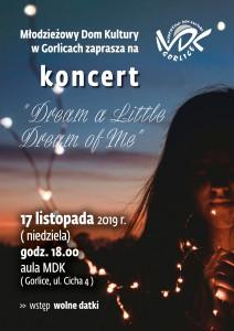 MDK_koncert_DREAMS_112019_plakat_A3