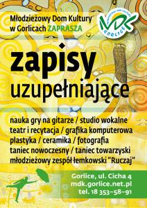 MDK_ZAPISY_uzupelniajace_082020_plakat_A3 (1)